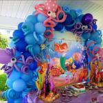 Μπαλόνια σύνθεση ΑΡΙΕΛ Η ΜΙΚΡΗ ΓΟΡΓΟΝΑ 1