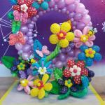 ΕΙΔΙΚΗ ΚΑΤΑΣΚΕΥΗ από μπαλόνια  : Κήπος 1