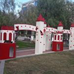 Κόκκινοι πύργοι σετ 7