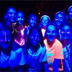 Glow in the Dark Party 1